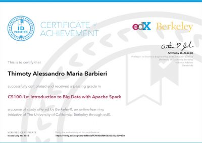 EDX – Introduction to big data with Apache Spark