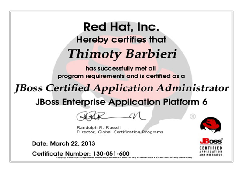 JBoss - JBoss Enterprise Application Platform 6