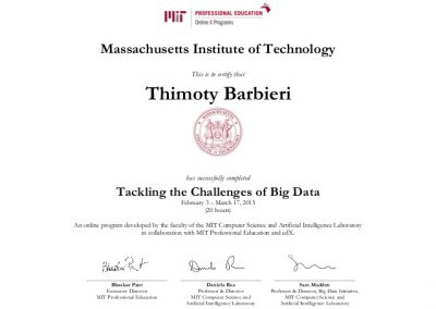 MIT Big Data